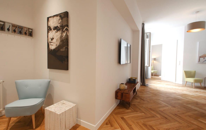 City Apartment in Wien 1010, schönes Badezimmer