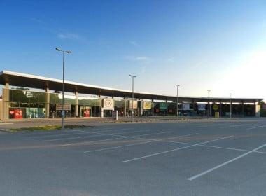 FMZ Eferding_leerer Parkplatz