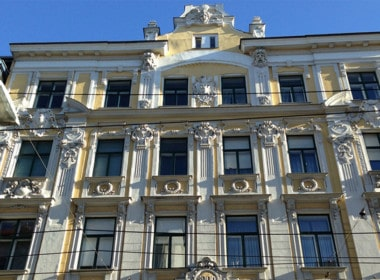 Schöne Hausfassade_Wien_1070